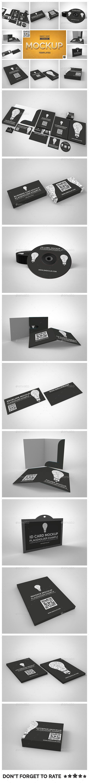 Branding Stationary Mockup Set - Stationery Print