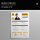 CV Template v2 A4 - GraphicRiver Item for Sale