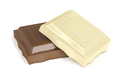 White and brown chocolate pieces - PhotoDune Item for Sale