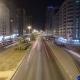 Cityscape of Ajman From Bridge at Night