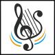 Harp Music Logo