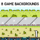 8 3D Game Backgrounds - GraphicRiver Item for Sale