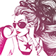 Woman Wearing Sunglasses - GraphicRiver Item for Sale
