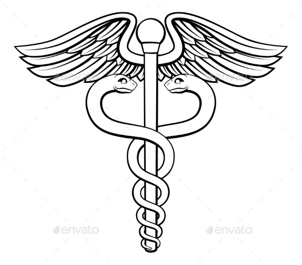 Caduceus - Health/Medicine Conceptual
