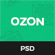 Ozon – Business and Creative Agency PSD Temaplate - ThemeForest Item for Sale