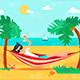 Vacation On Tropical Island - VideoHive Item for Sale