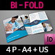 Medical Care Bi-Fold Brochure Template - GraphicRiver Item for Sale