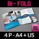 Medical Care Bi-Fold Brochure Template - GraphicRiver Item for Sale