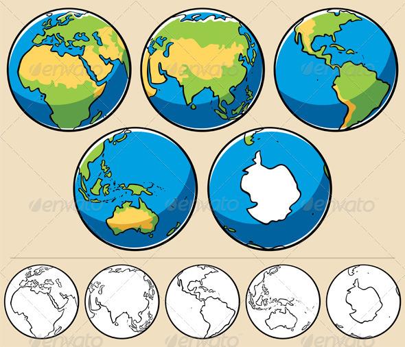 Earth - Travel Conceptual