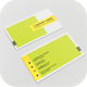 Business Card Color Block - GraphicRiver Item for Sale