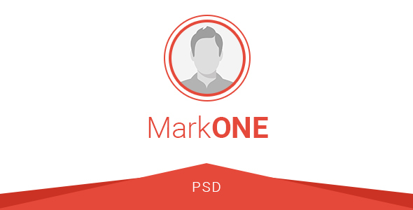 MarkONE – OnePage Resume PSD Template