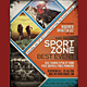 Sport Event Festival Flyer / Poster - GraphicRiver Item for Sale