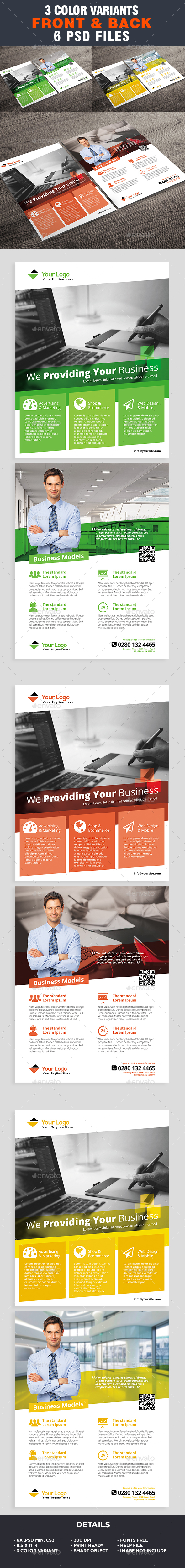 Corporate Flyer Template - Business Flyer - Corporate Flyers