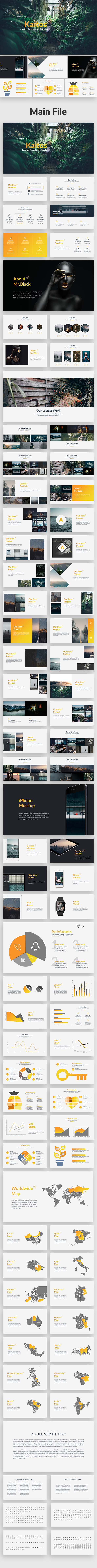 Kaitos - Creative Keynote Template - Creative Keynote Templates