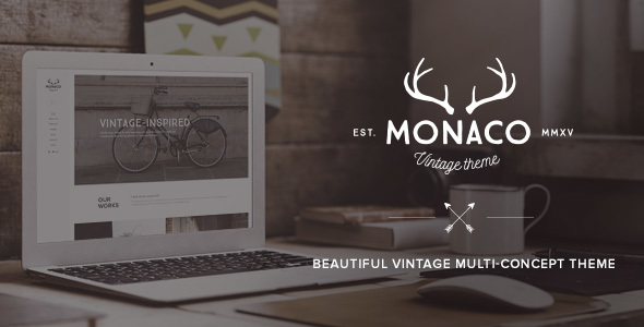 Monaco – Vintage Multi-Concept WordPress Theme
