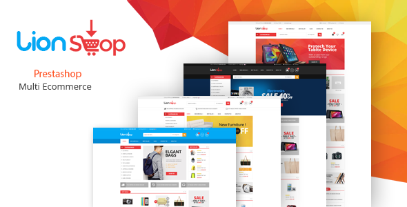 Lion – Responsive Prestashop Theme