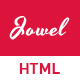 Jowel - Personal Portfolio HTML Template - ThemeForest Item for Sale