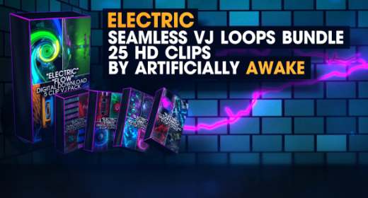 Electric VJ Loops Bundle