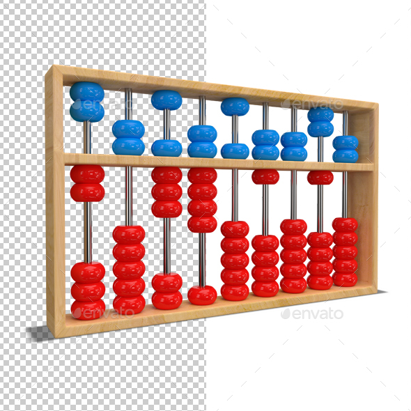 Abacus - Objects 3D Renders
