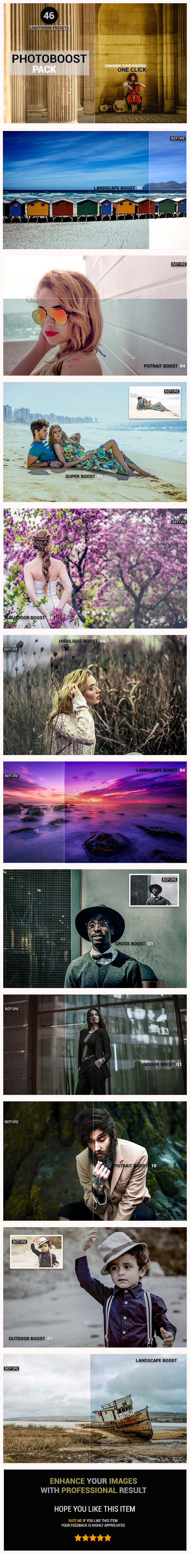 Photoboost Pack - Lightroom Presets Add-ons