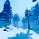 The Movement Of Winter Forest - VideoHive Item for Sale