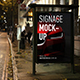 Smart Signage Advertising Mockup PSD Template - GraphicRiver Item for Sale