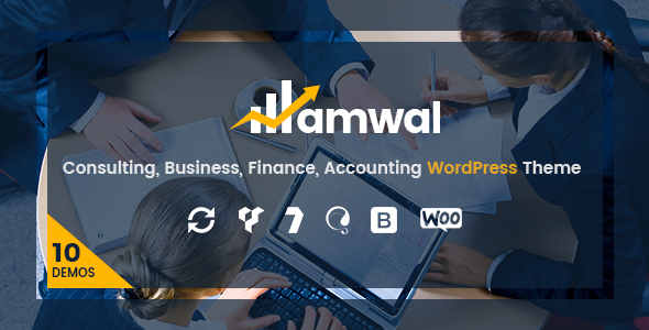 Amwal | Consulting, Business, Finance, Accounting WordPress Theme - Business Corporate