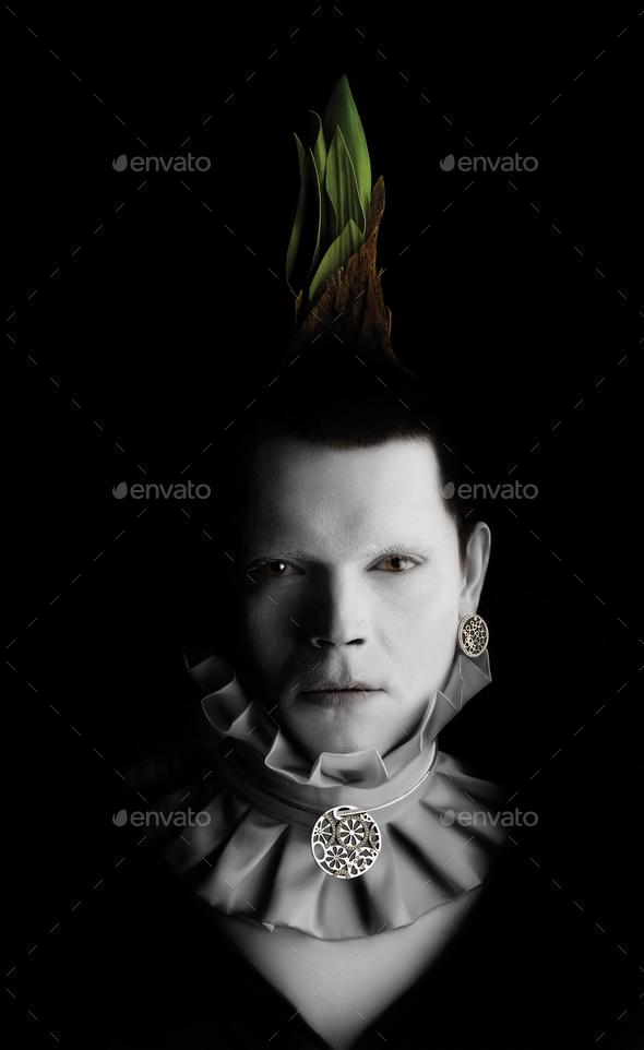 Cipollin boy. - Stock Photo - Images