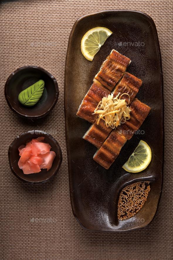 Japanese Dinner - Stock Photo - Images