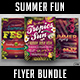 Summer Fun Flyer Bundle - GraphicRiver Item for Sale
