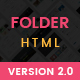 Folder - Personal Portfolio Template - ThemeForest Item for Sale