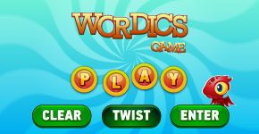 construct 2 wordics word game