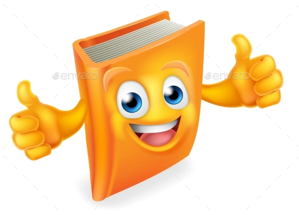 Book Cartoon Character - Miscellaneous Characters