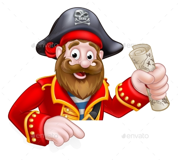 Cartoon Pirate - People Characters