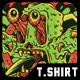 Slimez T-Shirt Design - GraphicRiver Item for Sale