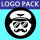 Glitch Logo Pack
