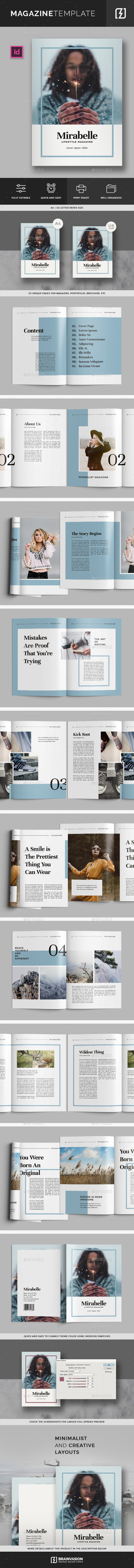 Magazine Template Vol.02 - Magazines Print Templates