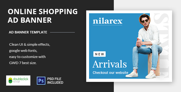 Shopping - HTML5 Animated Banner 19 - CodeCanyon Item for Sale