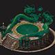 Dragon - transmission platform 01 - 3DOcean Item for Sale
