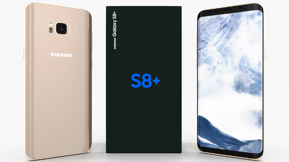 Samsung Galaxy S8+ Maple Gold - 3DOcean Item for Sale