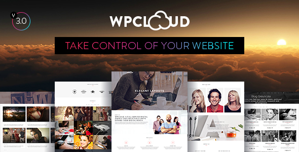 WPCLOUD - Creative One-Page Theme - Creative WordPress