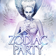 Zodiac Party Flyer Template - GraphicRiver Item for Sale