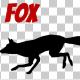 Fox Silhouette - Run - VideoHive Item for Sale