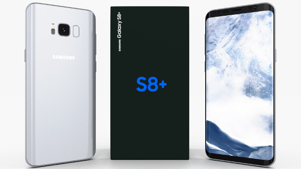 Samsung Galaxy S8+ Arctic Silver - 3DOcean Item for Sale