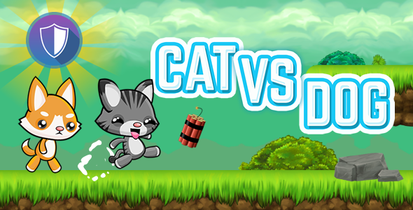 Cat Vs Dog - HTML5 Game (Capx) - CodeCanyon Item for Sale