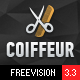 Coiffeur - Hair Salon WordPress Theme Nulled