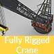 Highpoly Heavy Crane - 3DOcean Item for Sale