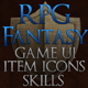 Fantasy RPG UI with 150 Item Icons and 182 Skill Icons - GraphicRiver Item for Sale