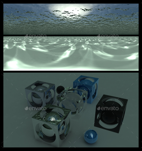 Underwater - HDRI - 3DOcean Item for Sale