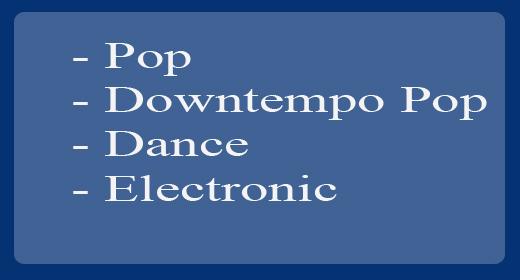 Pop, Dance, Electronic